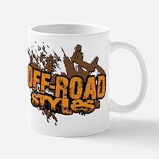 Off-Road Styles Crush The Odds logo Mug