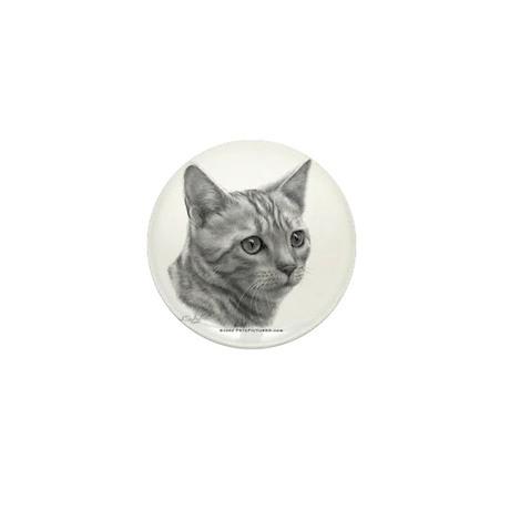 Bengal Cat Mini Button (10 pack)