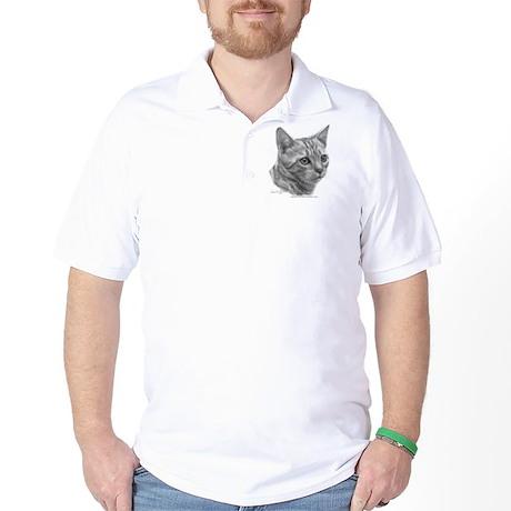 Bengal Cat Golf Shirt