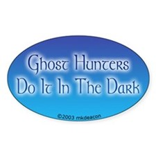 GH's Do It In The Dark Oval Decal