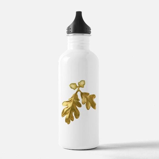 Golden Oak (leaves & acorns) Water Bottle