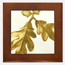 Golden Oak (leaves & acorns) Framed Tile