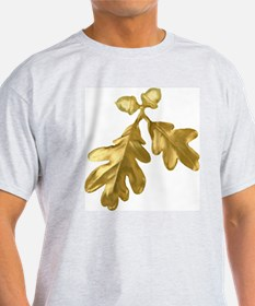 Golden Oak (leaves & acorns) T-Shirt
