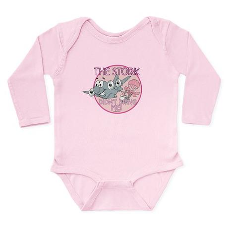Girls Long Sleeve Infant Bodysuit