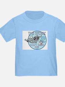 C17 The Stork Didn't Bring Me Boys T