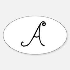 Bizzy Bee Monogram A Decal
