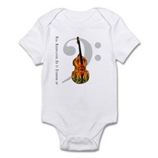 Real Bass Players Do It Stand Infant Bodysuit