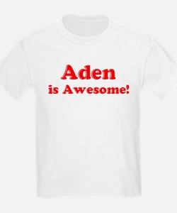 Aden is Awesome Kids T-Shirt