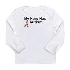 My Hero Has Autism Long Sleeve T-Shirt