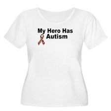 My Hero Has Autism Plus Size T-Shirt