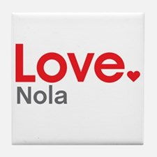 Love Nola Tile Coaster