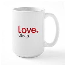 Love Olivia Mug