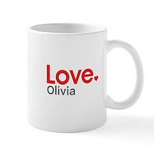 Love Olivia Small Mugs