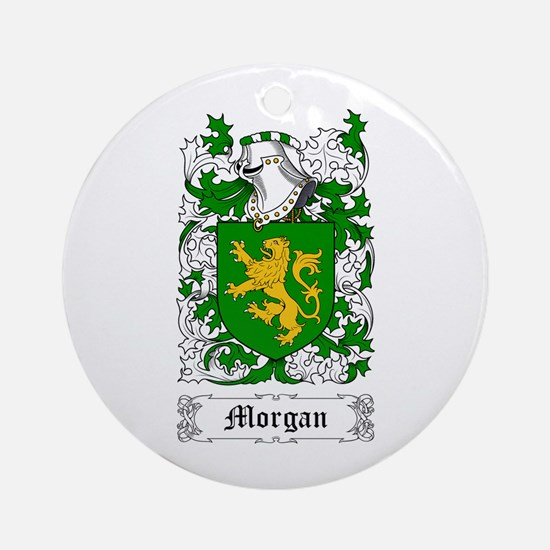 Morgan III Ornament (Round)