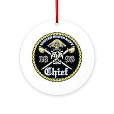 Navy Chief 1893 Ornament (Round)