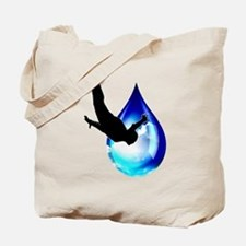 Sky Drop Tote Bag