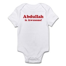 Abdullah is Awesome Infant Bodysuit