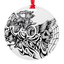 Quad Blazed Wickedness Ornament