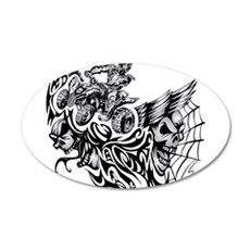 Quad Blazed Wickedness Wall Decal