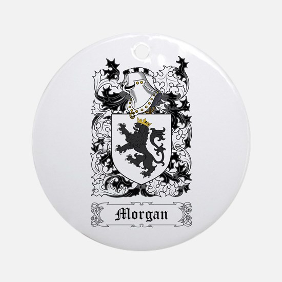 Morgan I Ornament (Round)