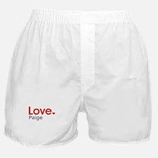 Love Paige Boxer Shorts
