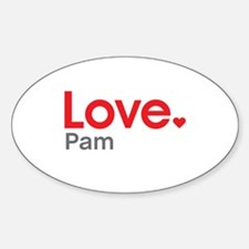 Love Pam Decal