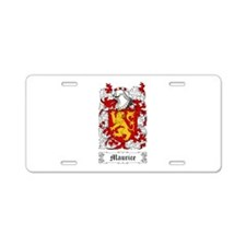 Maurice Aluminum License Plate