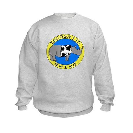 Incognito Rhino Logo Color.png Sweatshirt