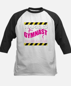 Warning_Gymnast Baseball Jersey