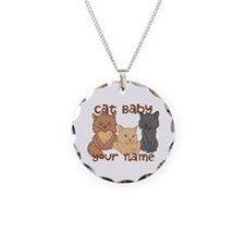 Personalized Cat Baby Necklace