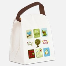 Cute Grocery tote Canvas Lunch Bag