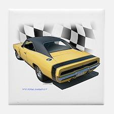 1970 Dodge Charger R/T Tile Coaster