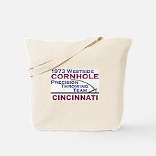 Cornhole Throwing Team Tote Bag