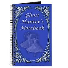 Blue Ghost Hunter Notebook