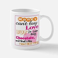 Money and Chocolate Mug (white)