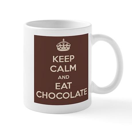 Eat Chocolate Mug (white)