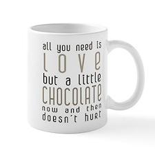 A Little Chocolate Love Mug (white)