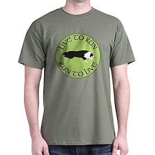 Black BC Live To Run Logo T-Shirt