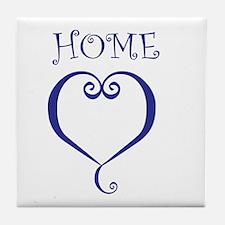 Home-Sweet-Home Tile Coaster