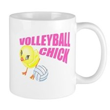 Volleyball Chick Mug