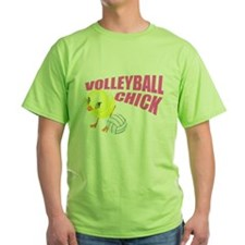 Volleyball Chick T-Shirt