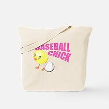 Baseball Chick Tote Bag
