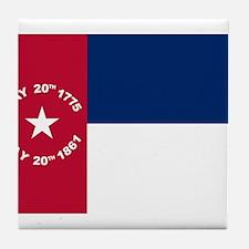 NC 1861 Flag Tile Coaster