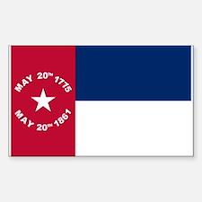 NC 1861 Flag Decal
