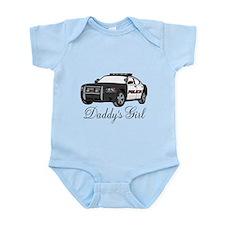 Daddy's Girl Police Car Infant Bodysuit