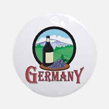 Vintage Germany Design Ornament (Round)