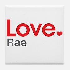 Love Rae Tile Coaster