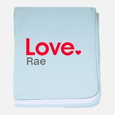 Love Rae baby blanket