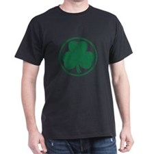 Vintage Green Shamrock T-Shirt