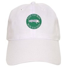 Blue Merle BC Live To Run Logo Baseball Cap